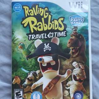 Rabbids invasion: travel in time