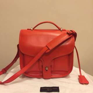 Opening Ceremony Leather Shoulder Bag