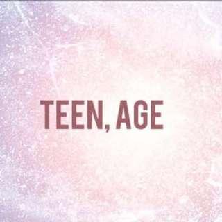 (instock) seventeen TEENAGE albums