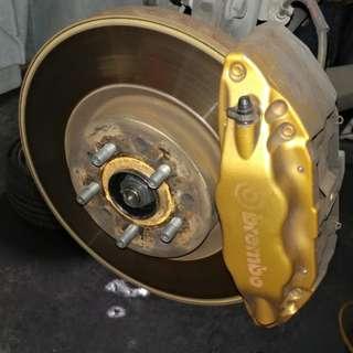 Brembo Gold BBK