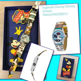 Ingersoll Disney unisex watch, new with tag and gift box. Original around $7xx, now $250 each.