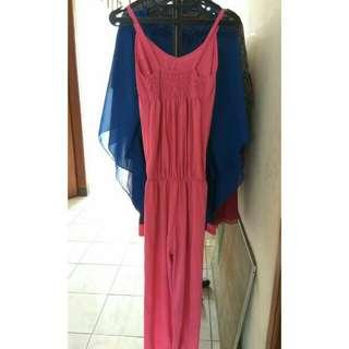 Long Jumpsuit Pink