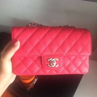 Mini rectangle chanel bag