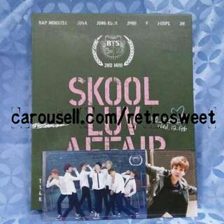 [WTS] MYR55 BTS SKOOL LUV AFFAIR ALBUM + PC (JIN)