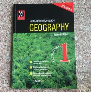 Comprehensive Guide Geography for Sec 1