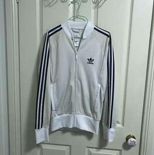 Adidas originals jacket - no collar