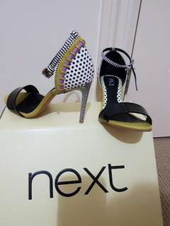 Next colourful heels