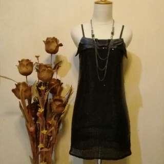 Dress hitam party simple 😍