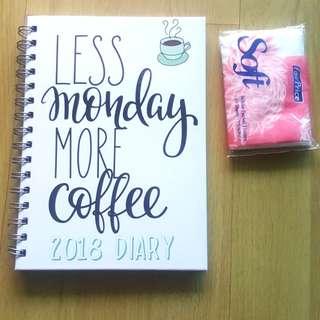 2018 Weekly Journal Notebook