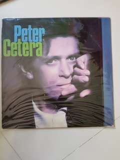 Peter Cetera Solitude Solitaire LP