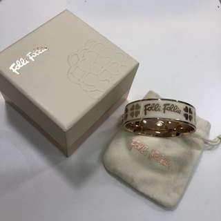 Folli Follie bangle with box and bag
