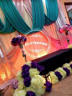 Wedding / engagement / henna night / dais / mini pelamin / decor package