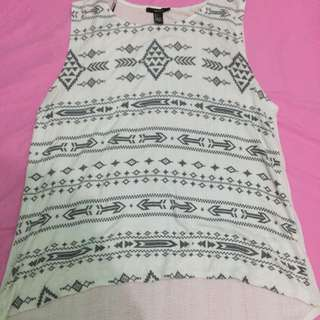 Forever 21 Tribal Top