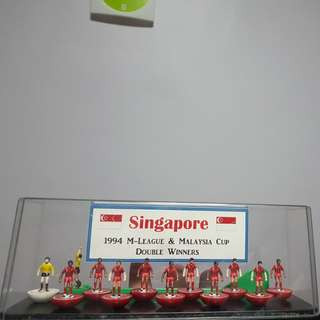 Singapore Lions in 1994 M-League & Malaysia Cup Double Winner Figurines
