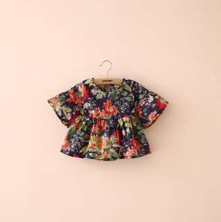 Blouse Floral Printed