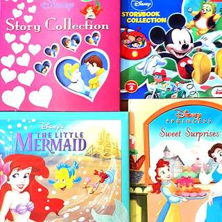 4 for $21.60: Disney Princess Story Collection, Sweet Surprises, The Little Mermaid, Storybook Collection #Contiki2018ww