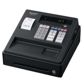Sharp  Cash Register ( XE-A147-BK1 Year Warranty By Agent. PSB Safety Mark Approved )