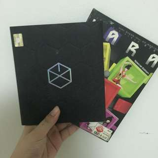 EXO Album and Kpop Keychains