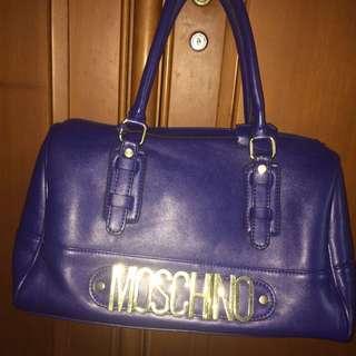Tas/bag moschino blue