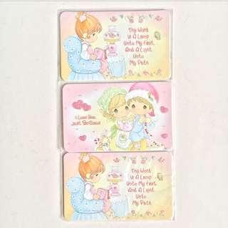 BNIP Precious Moment Cards
