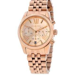 Mk watch rosegold