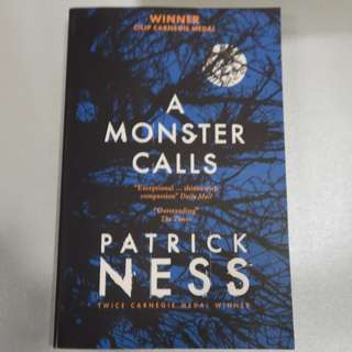 [NON-NEGO] A Monster Calls by Patrick Ness (Paperback)