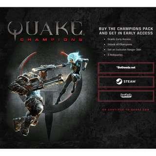 Quake Champions + CHAMPIONS PACK: Base Game and Unlock all Quake Champions Characters - CD Key #GOGOVAN50 #噢賣Game