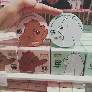 Miniso We Bare Bear BB &CC Cushion