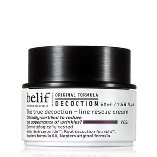 BELIF The True Decoction-Line Rescue Cream 50ml