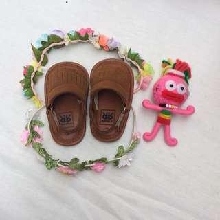 Baby Moccasins sandals / prewalker