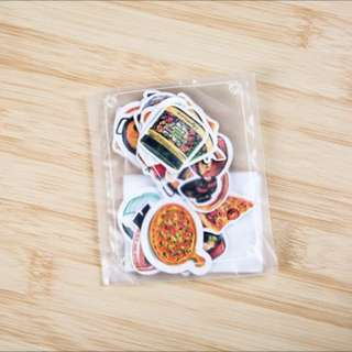 Pizza/Food Stickers Pack