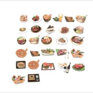 Food Stickers Pack