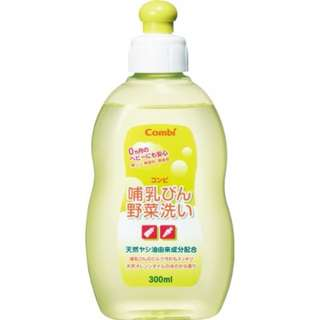 ♪♪妮虹果のlife♪♪【日本Combi】嬰幼兒奶瓶.餐具溫和洗潔精300ml#125789