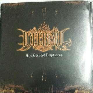 Music CD (Metal): Infernal–The Deepest Emptiness