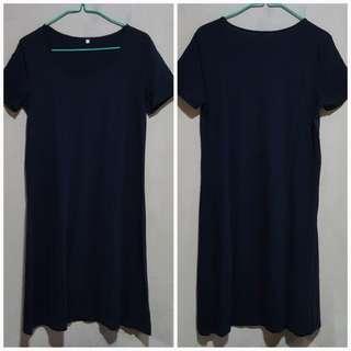 NEW MUJI Black Dress