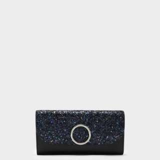 Charles and Keith CIRCULAR DETAIL WALLET