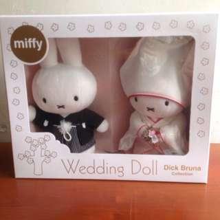 Miffy Wedding Doll