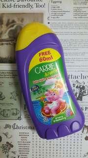 CARRIE JUNIOR BABY HAIR & BODY WASH GROOVY GRAPEBERRY 280ML+60ML