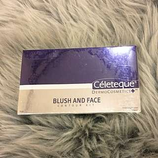 Céleteque Blush and Face Contour Kit in Pink