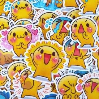 ⏰ Planner Stickers — Emotive / Expressive / Emoticons / Emojis