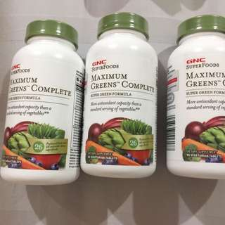 GNC MAXIMUM GREEN COMPLETE