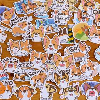 ⏰ Planner Stickers — Animals / Dogs / Corgi #001