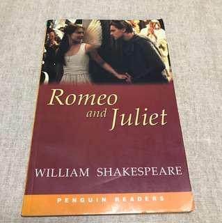 Rome and Juliet William Shakespeare penguin readers