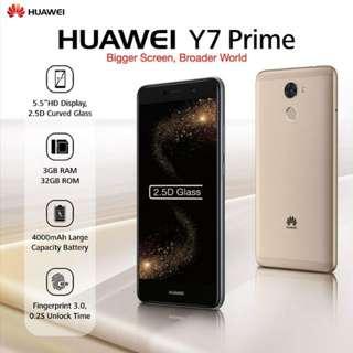 HUAWEI Y7 PRIME (BLACK)