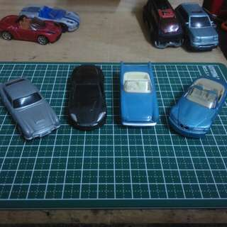 James Bond car set from Shell (incomplete)