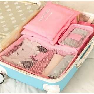6 in 1 Travel Luggage Organizer