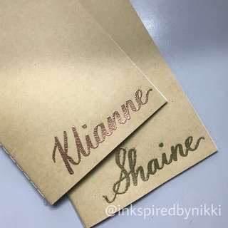 Personalized Embossed Notebook