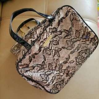 Victoria Secrets Lace Makeup Bag