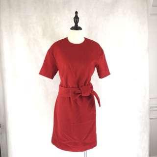 Calvin Klein Red Dress *COMPANY SAMPLE