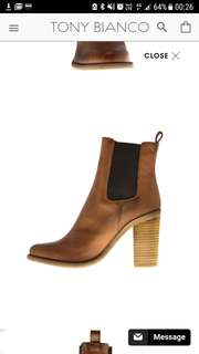 Tony Bianco Reggie Boots Tan